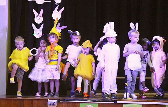 Easter Celebration at Lower Primary Assembly