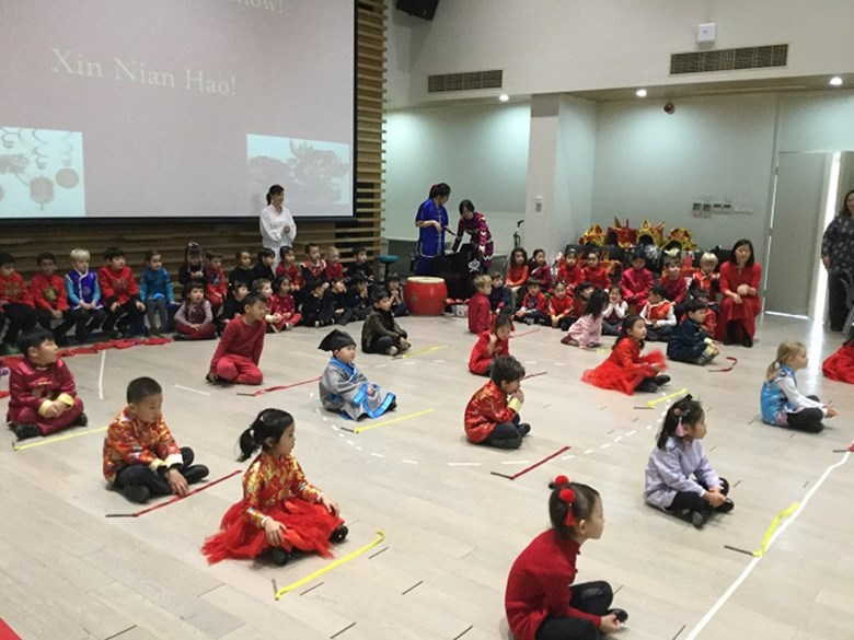 Reception Cubs Celebrate Chinese New Year