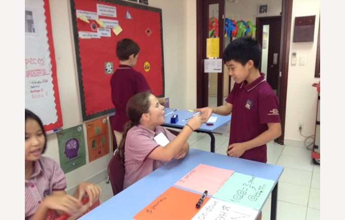The 'Trade Game' – Year 5 and Year 6 2