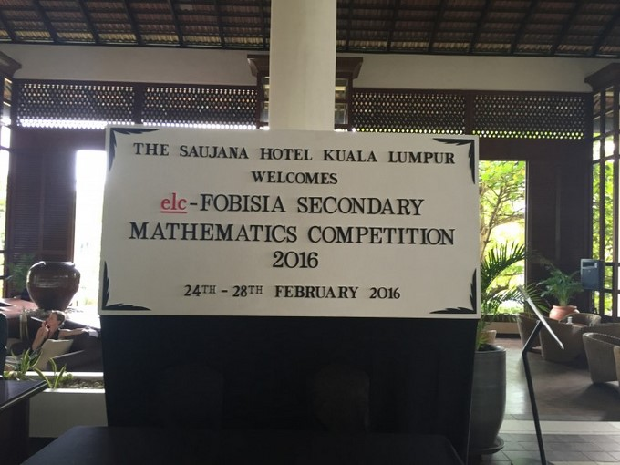 FOBISIA Maths Competition 2016