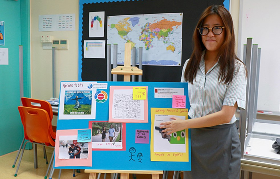 Creativity, Activity, Service Showcase by Year 13 Students