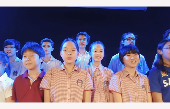 British International School HCMC, Virtual Choir