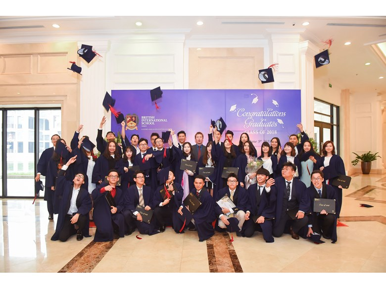 British International School Hanoi Graduation 2017-2018