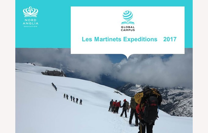 Les Martinets Expedition 2017