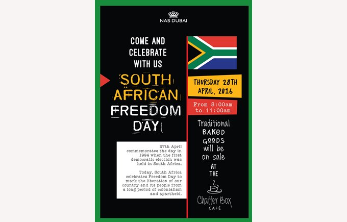 South Africa Freedom Day