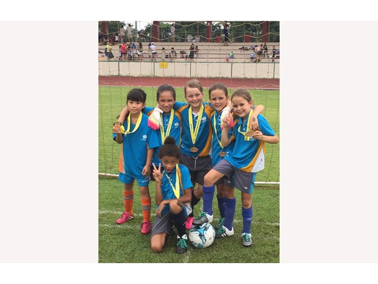 Football U9 Lionesses Won Gold Medal for Division 3