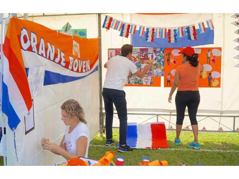 DCIS UN Day Country Tent Holland