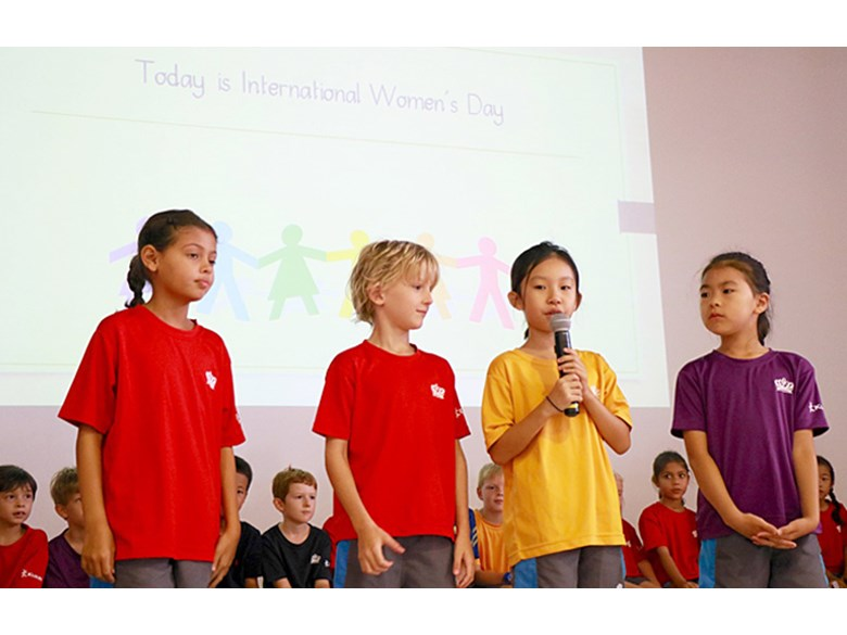 International Womens Day Assembly