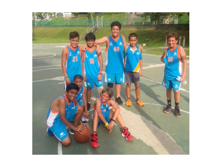Under 12 Boys Basketball Team