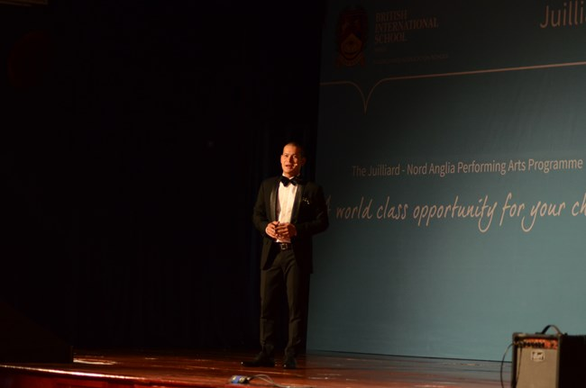 Mr Nguyen Viet Tu - Juilliard Launch