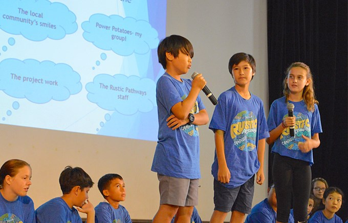 Year 6 Thailand Trip Assembly