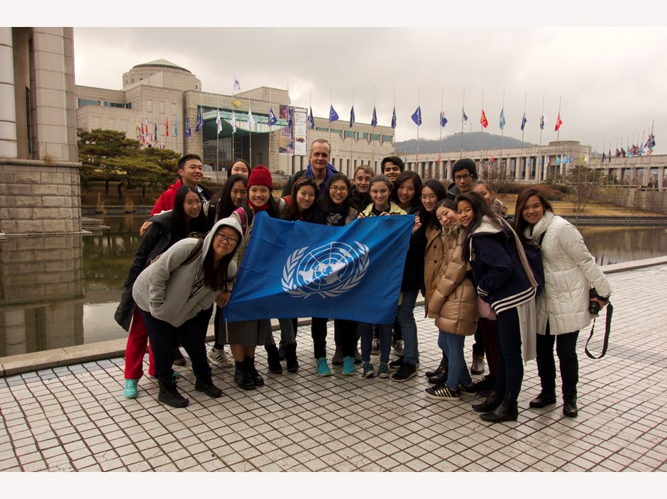 BISHCMC students join Seoul Model United Nations