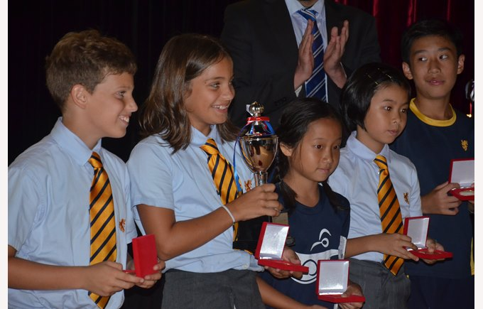 The British School of Guangzhou Sports Awards 2015