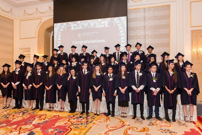BIS - Graduation 2019 in images