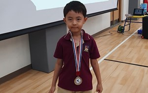 Hummingbird Award - Aidan