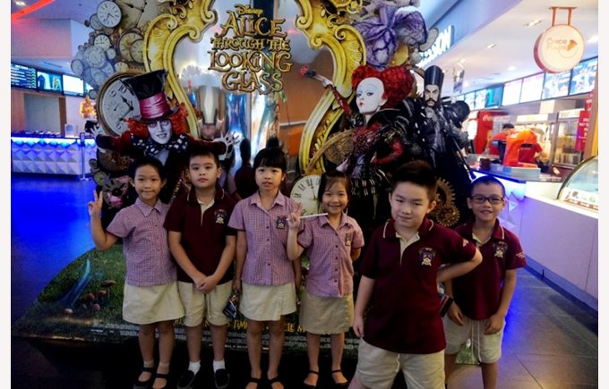 Trip to platinum cineplex  - Year 2 BVIS Hanoi (6)