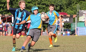 U12 Boys Rugby In Back To Back Matches