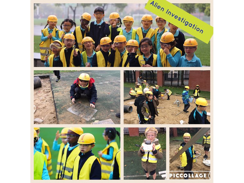 Year 1 conduct an alien investigation