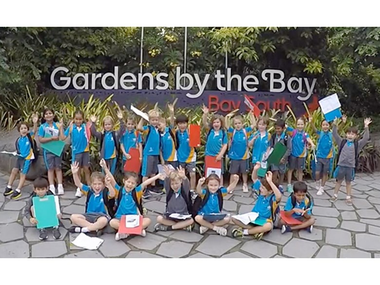 Year 2's Gardens By The Bay Trip