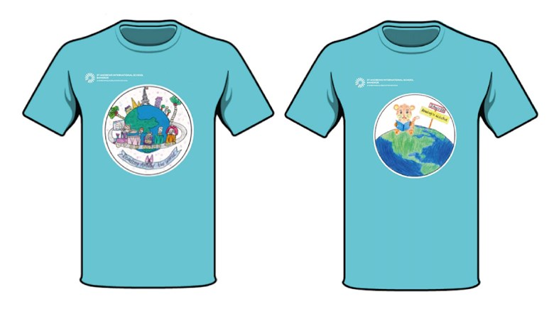 Book Week T-shirt Competition Winners