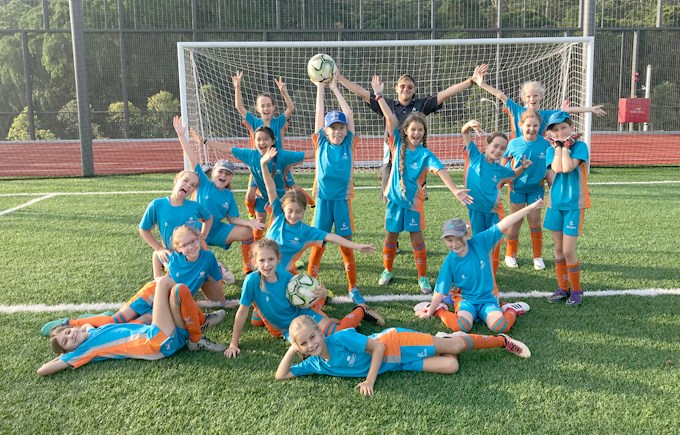 Dover Court International School Singapore Lionesses Under 10 ACSIS Football Final