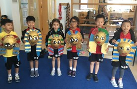 Year 3 Egyptian masks