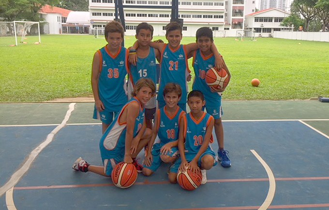 DCIS U12s Boys Basketball Team