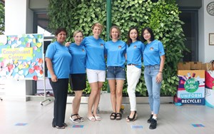 Our PTG Volunteer Coordinators (from L-R): Gayatri, Lily, Pamela, Jana, Ai, Vivian and Thomas (not in the photo)