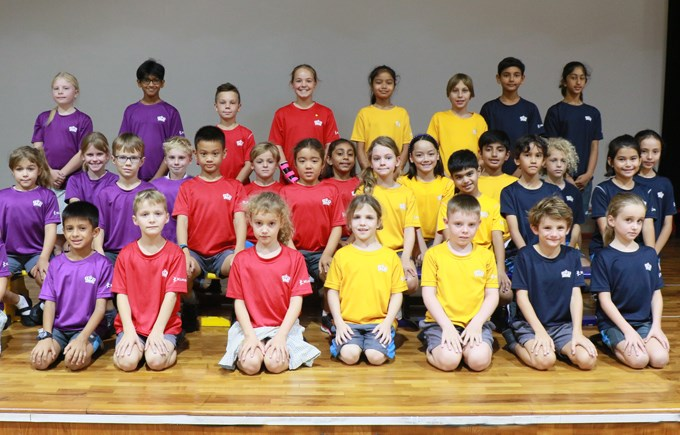 Dover Court International School Singapore, Primary House Captains
