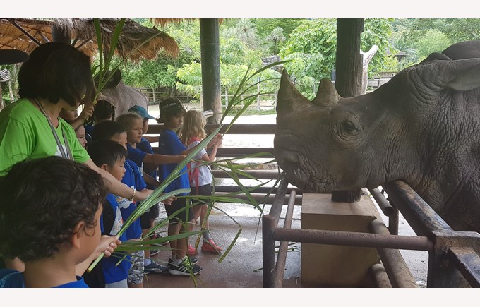Voyagers zoo trip