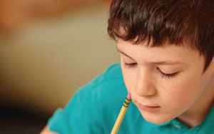 vse image boy with pencil