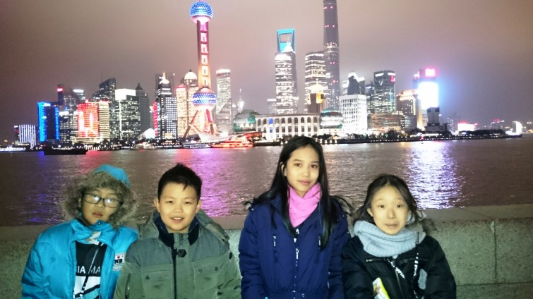 BIS Tu Xuong Primary Students at FOBISIA Maths Competition, Shanghai 2015