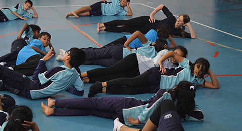Dover Court International School Singapore NAE Leading by example