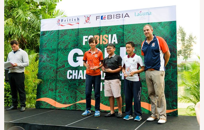 British International School Hanoi FOBISIA golf