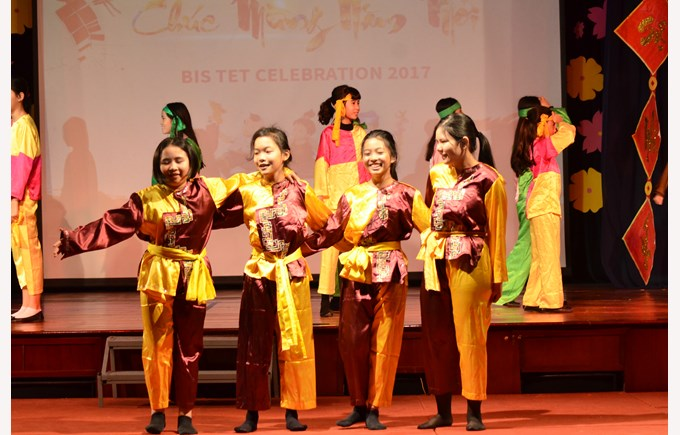 British International School Hanoi Tet