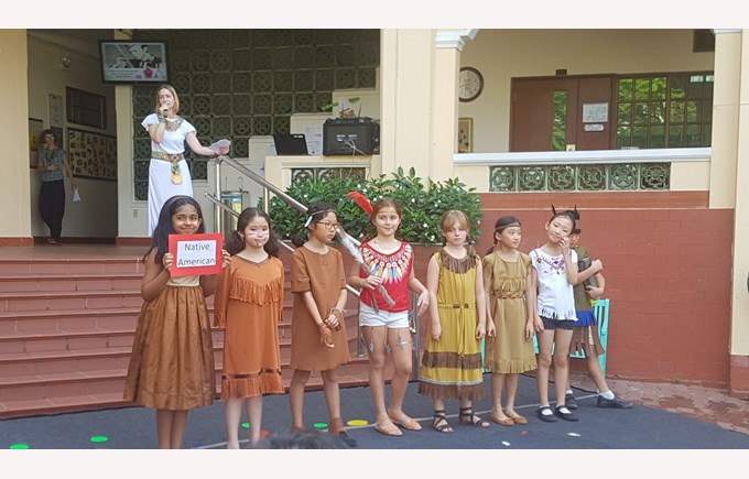 BIS Ho Chi Minh Year 5 Step Back in Time - 2