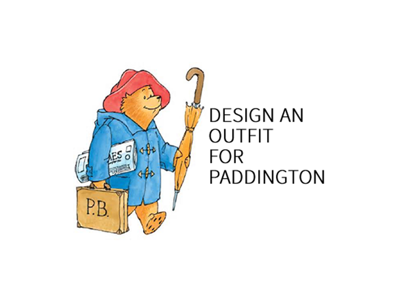 Design an outfit for Paddington Bear for his Adventures to China
