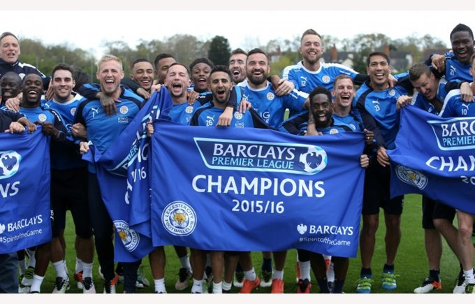 Leicester City champion of the Premier League 2015-2016
