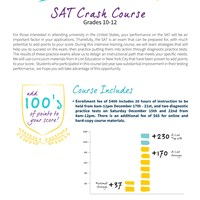 SAT Crash Course