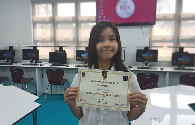 BIS_Success in Bebras Computing Challenge for BIS HCMC