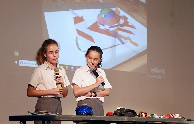 Year 7 STEAM at Dover Court Secondary Assembly