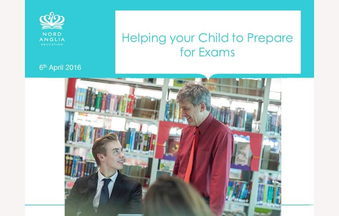 Helping your Child to prepare for exams