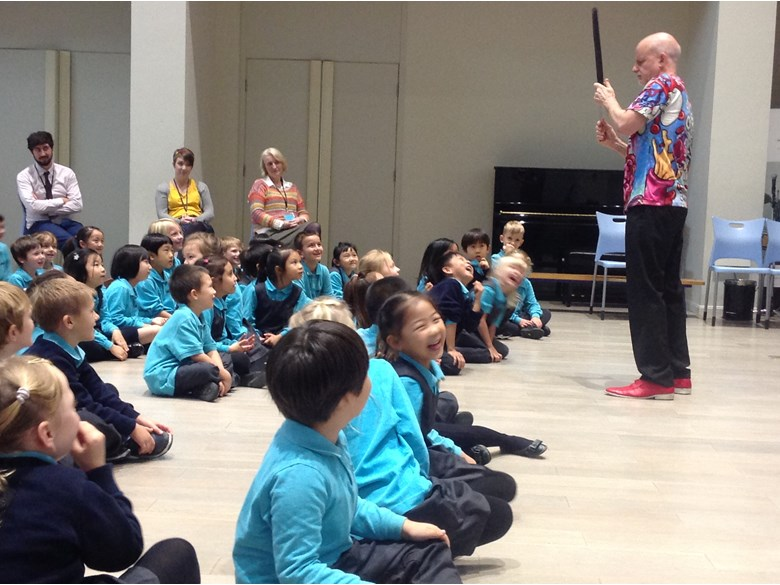 Year 1 Enjoy Visit from Renowned Poet