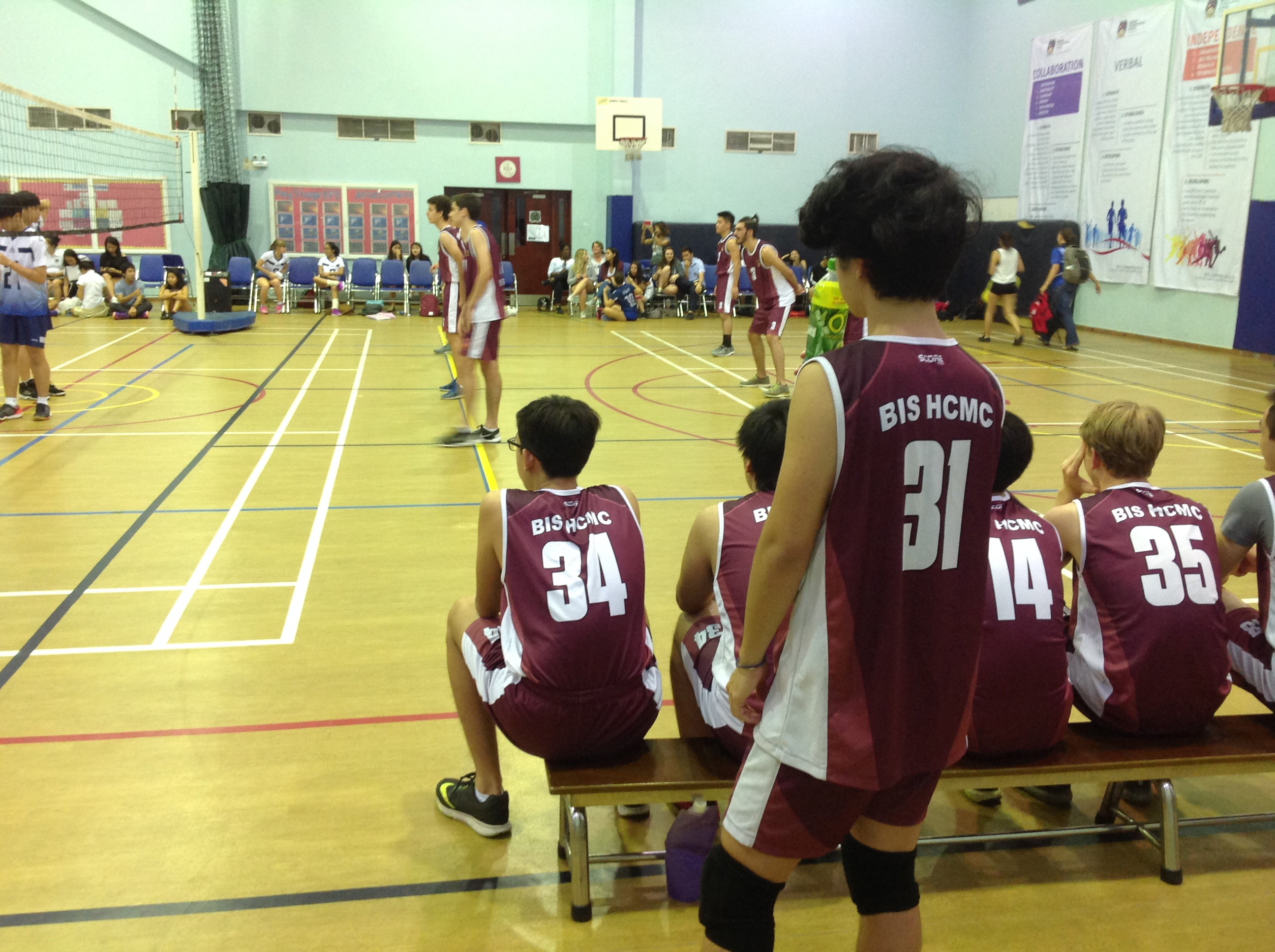 U19 Boys Volleyball v ISHCMC