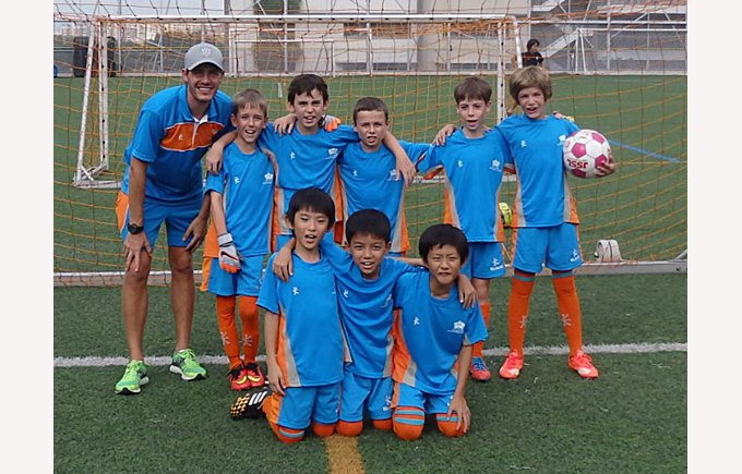 DCIS Under 10s Football Team