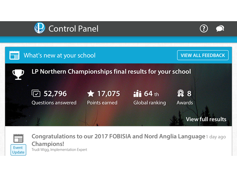 Language Perfect Northern Championship
