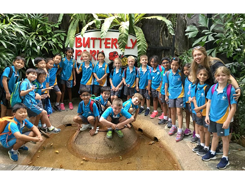 Dover Court Year 2 Trip to Butterfly Park