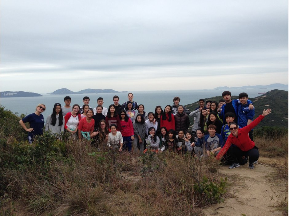 Group Photo on a trek in HK