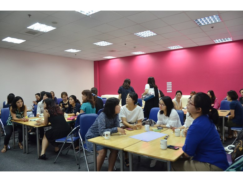 Britist International School Hanoi - Workshop