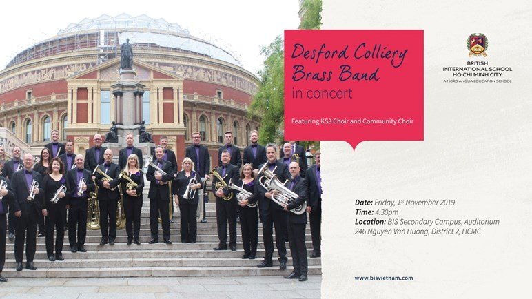 Desford Colliery Brass Band Concert - Friday 1st November